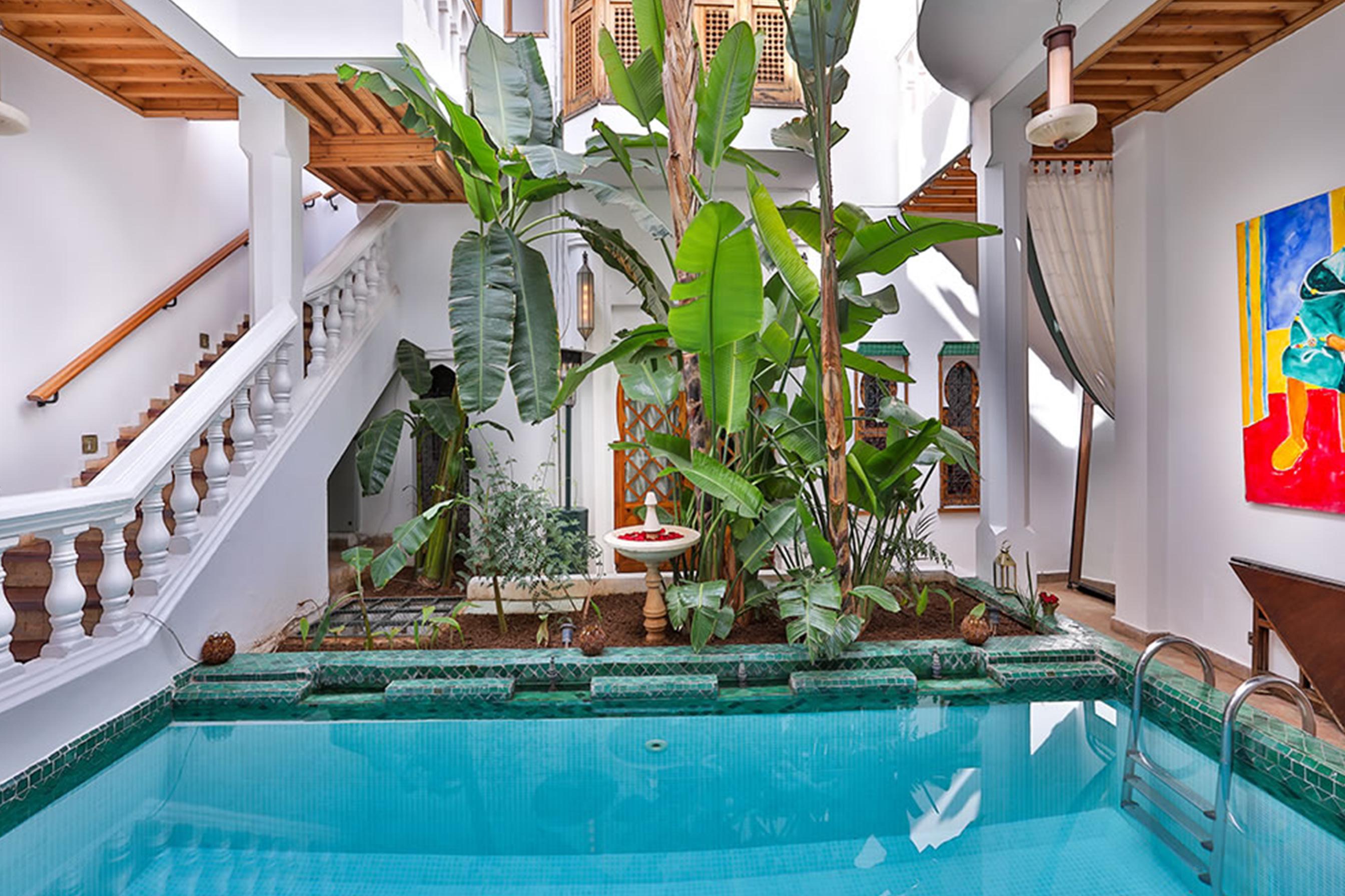Aile Matisse Riad Moucharabieh Marrakech